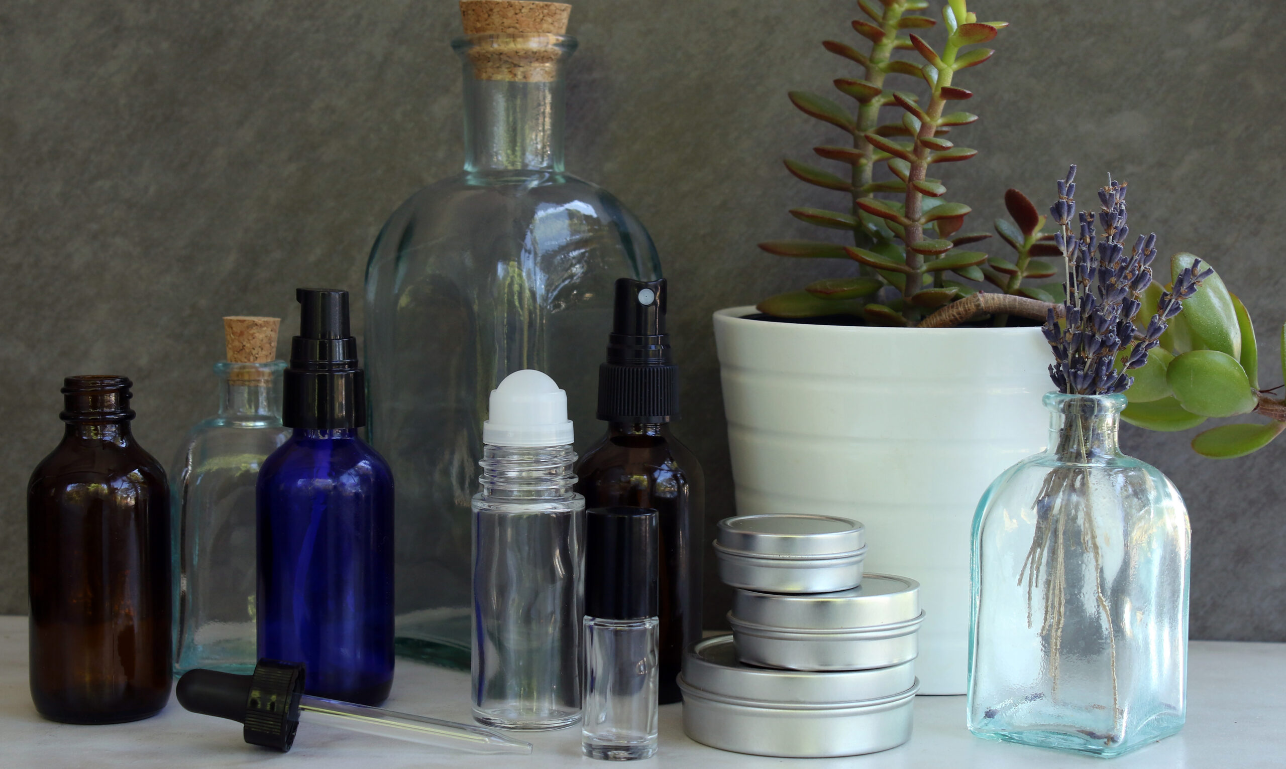 Clean Essential Oil Bottles and Containers for Better health
